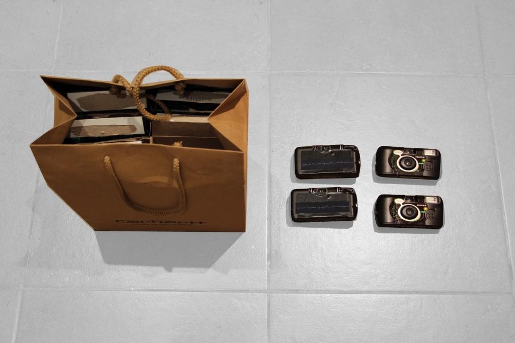 Le sac des 27 appareils photo jetable emmenés