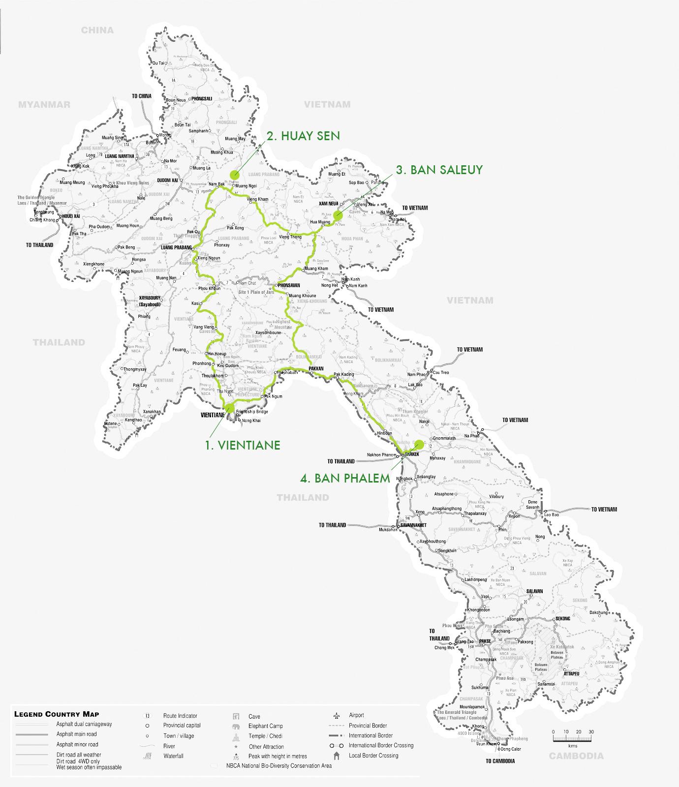 carte-du-laos chemin