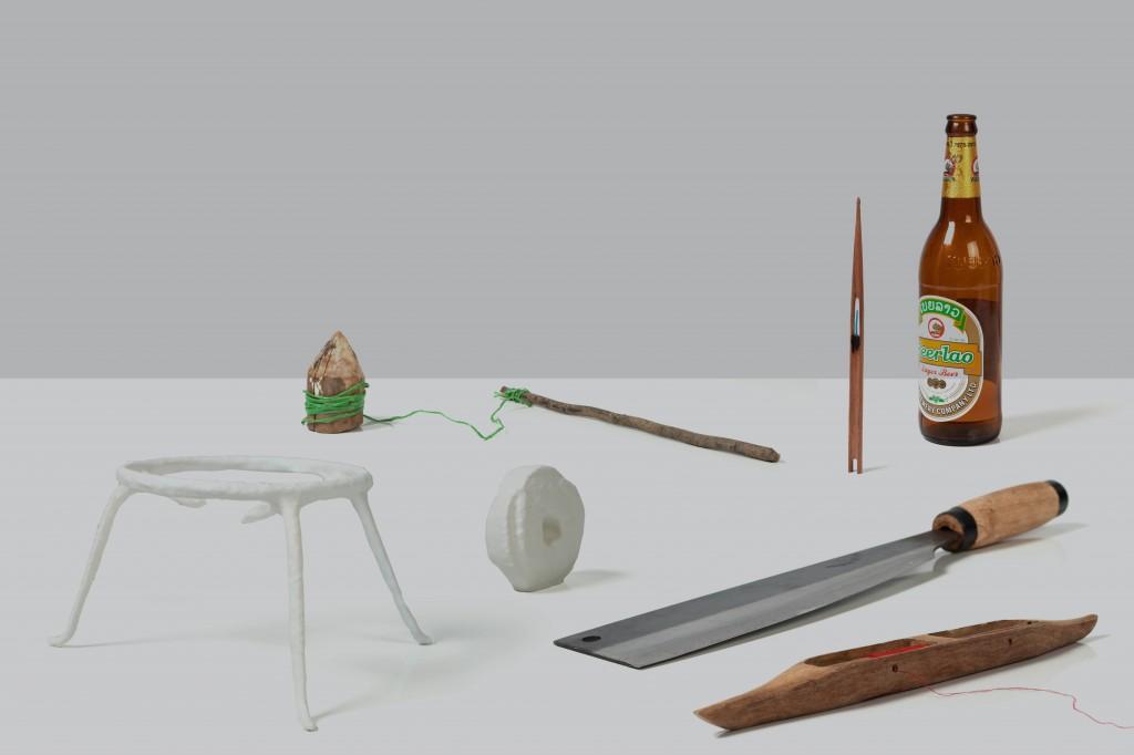 sélection d'objets et de scans imprimés en 3d de la collecte