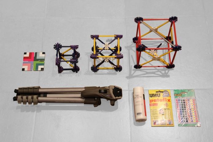 les supports de scan et accessoires pour fixer ou matifier les objets